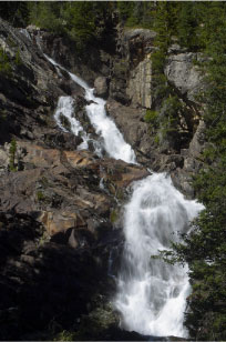 Hidden Falls at Jenny Lake